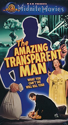The Amazing Transparent Man [VHS]