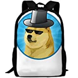 ZQBAAD Single Dog Glasses Hat Luxury Print Men And Women's Travel Knapsack