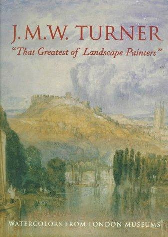 Turner Watercolor William (J.M.W. Turner