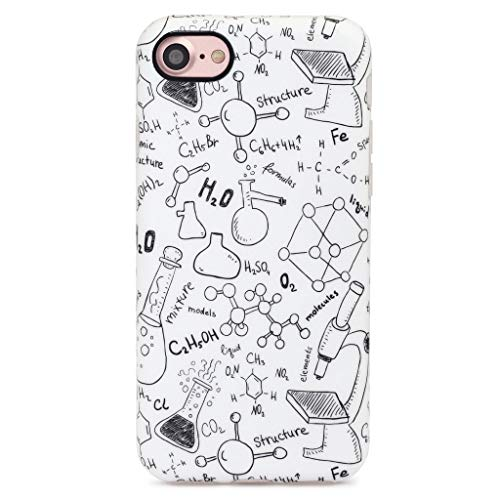 GOLINK iPhone 7 Case/iPhone 8 Case, Student Slim-Fit Anti-Scratch Shock Proof Anti-Finger Print Flexible TPU Gel Case for iPhone 7/iPhone 8 - Chemistry Lab