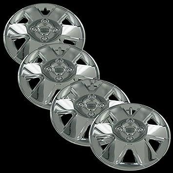"""Cromo 15 """"fundas para ruedas de tapa de buje para Dodge Caliber y Ford"""