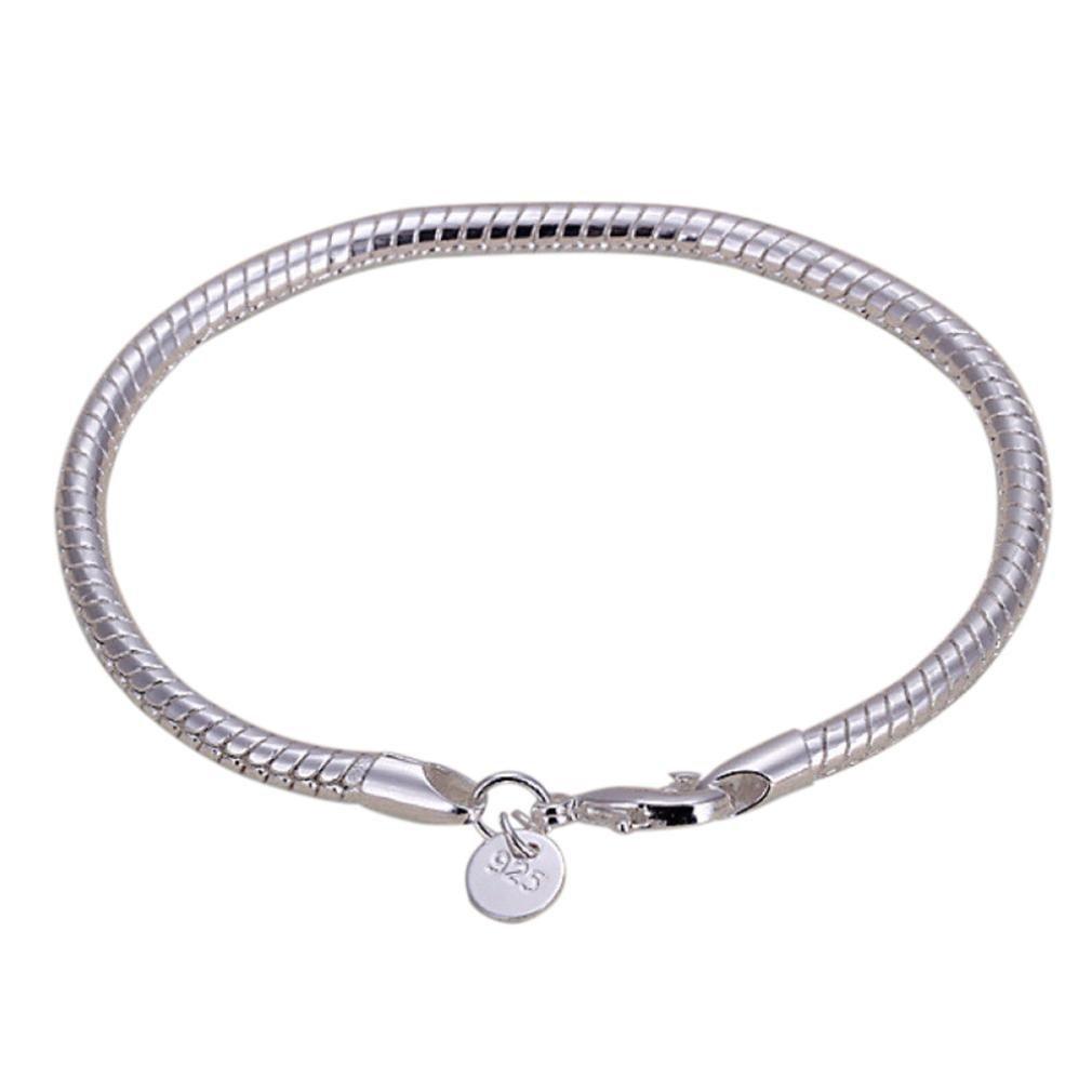 Stheanoo Bracelets Personality Elegant Handmade Chain Bangle Stainless Steel Bracelet Women's Jewelry