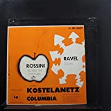 Andre Kostelanetz / The Robin Hood Dell Orchestra Of Philadelphia / Ravel / Rossini - Bolero & William Tell Overture - Lp Vinyl Record