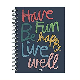 2019 have fun by hallmark medium weekly monthly planner hallmark
