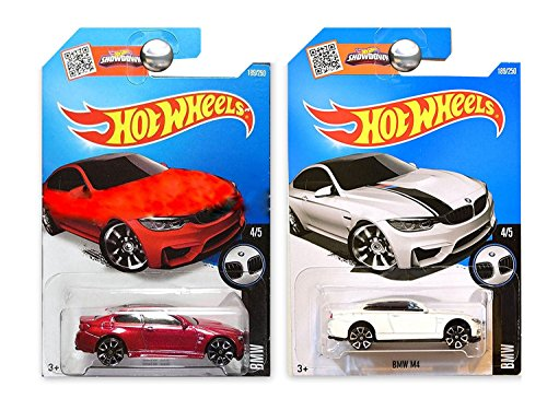 (Hot Wheels 1:64 - BMW M4 Red & White 189/250[Combo])