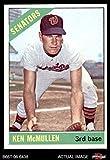 1966 Topps # 401 Ken McMullen Washington Senators (Baseball Card) Dean's Cards 6 - EX/MT Senators