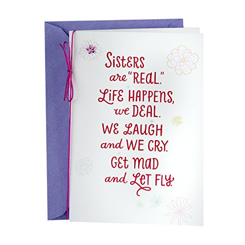 Hallmark Mother's Day Greeting Card for Sister (Sister Bond)