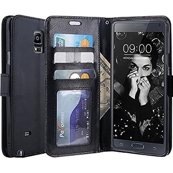 41e7ff2fd43 Amazon.com  IZENGATE Samsung Galaxy Note 4 Wallet Case - Executive ...
