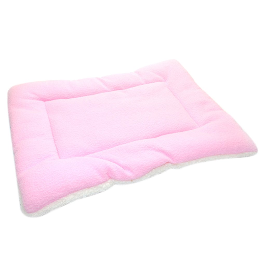 JINBEST Pet Conditioning Mat for Medium Large Dog Pet Cat Crate Kennel Warm Bed Mat Padding House Cozy (XL, Pink) by JINBEST
