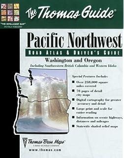 Thomas Guide Pacfic Northwest Road Atlas Thomas Guide - Us paper map thomas guide