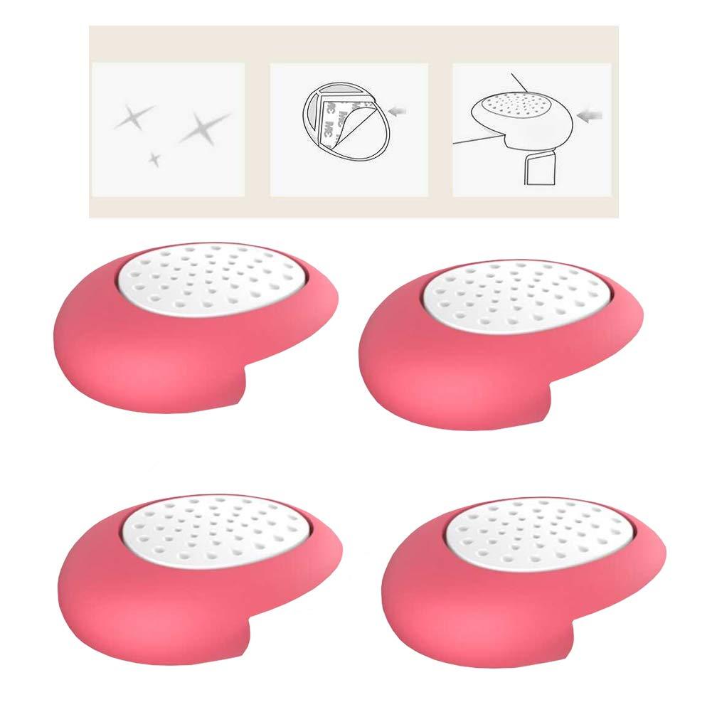 4Pcs Baby-Proof Kantenschutz Nette Silikon-Tischkantenschutz Auto Kissen Eckensch/ützer f/ür Tische M/öbel f/ür scharfe Ecken Brown
