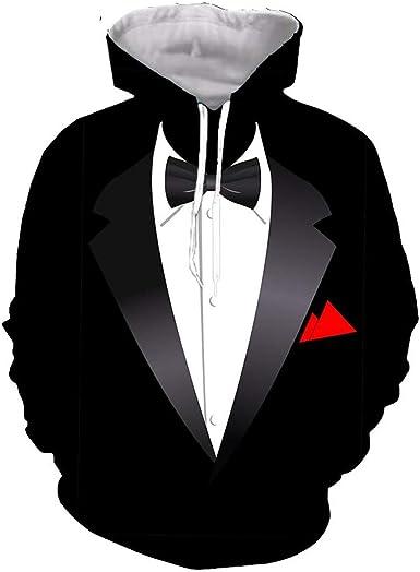 Vieryyes Fresco Divertido del Smoking del Partido de Cosplay de impresión en 3D Hombres Mujeres Camiseta T/Camisas/Sudaderas/Chaleco/Tops: Amazon.es: Ropa y accesorios