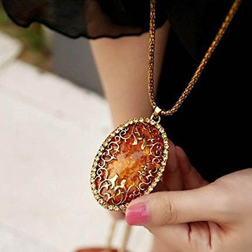 fashion-womens-oval-amber-hollow-rhinestone-long-chain-pendant-necklace-jewelry