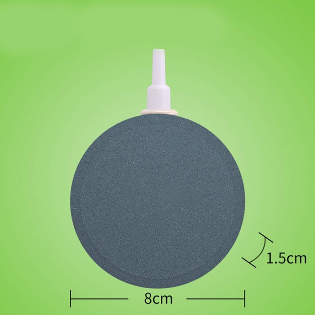 MAGAI Disco de Burbujas de Aire de Forma Redonda para Acuario, Estanque, acuaponia, hidroponía (Size : 6CM): Amazon.es: Hogar