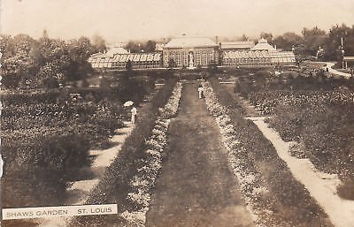 Garden Louis Shaws - F7591 MO, St. Louis Shaws Garden Photo Postcard