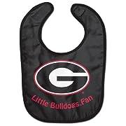 NCAA College Full Color Mesh Baby Bibs (Georgia Bulldogs All Pro)