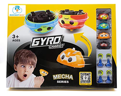 Gyro Car Battling Tops Game by Rocket Boy | Battle Tops, Spinning Top, Spinning Toy Car, Top Toys | Entertainment, Fun & Learning - 13pc Battle Top Play Set
