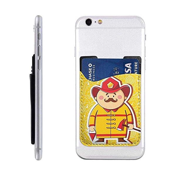 Portatarjetas de bombero para teléfono, billetera para tarjeta de crédito, soporte para tarjeta telefónica, soporte para… 2