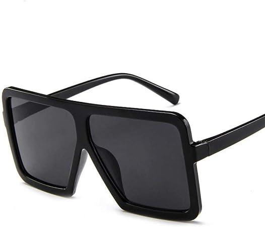 occhiali da sole da sole da uomo con montatura quadrata