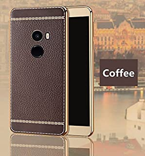 Excelsior Silicon Back Cover case for Xiaomi Mi Mix 2  Coffee