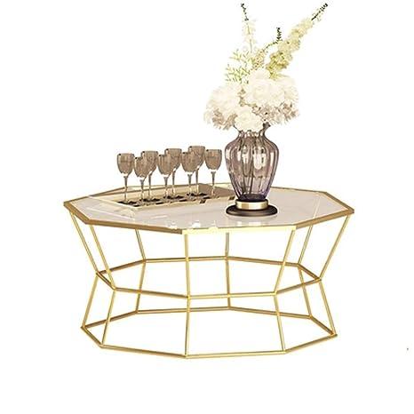 Amazon.com: Modern Round Coffee Table Creative Side Table ...