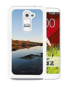 Unique DIY Designed Cover Case For LG G2 With Riverbank Nature Mobile Wallpaper (2) Phone Case