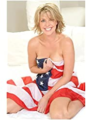 Amanda Tapping 8 x 10 Photo Stargate Sanctuary (set of 4) flag poses
