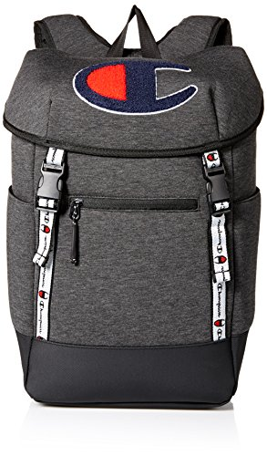 Champion Men's Top Load Backpack, Dark grey, One Size