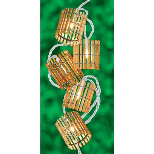 Bamboo Patio Lights String - 3