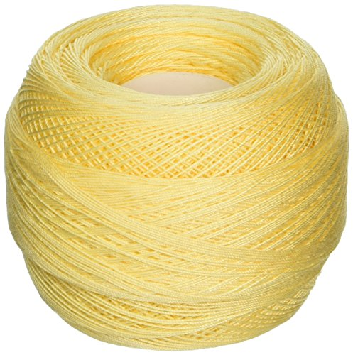 DMC 167GA 30-745 Cebelia Crochet Cotton, 563-Yard, Size 30, Banana Yellow