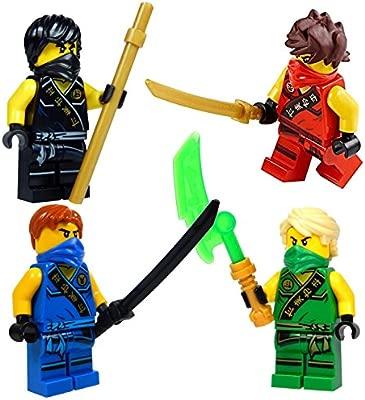 LEGO® NinjagoTM: Ninjas set of 4 - Lloyd, Cole, Jay, Kai ...
