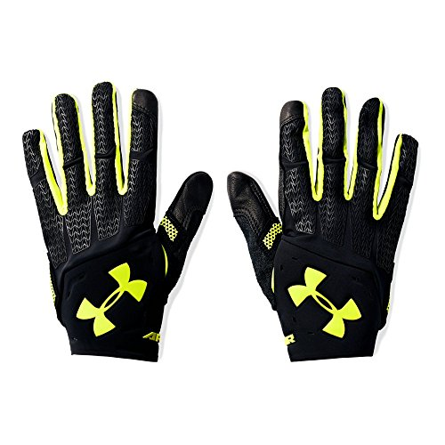 Under Armour Men's ClutchFit Renegade Training Gloves,Black/High-Vis Yellow, X-Large -