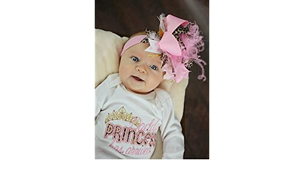 6dbf61700 Amazon.com : Newborn Girl Take Home Outfit - Daddy's Princess Has Arrived  Gown ONLY 0-3 mths : Everything Else