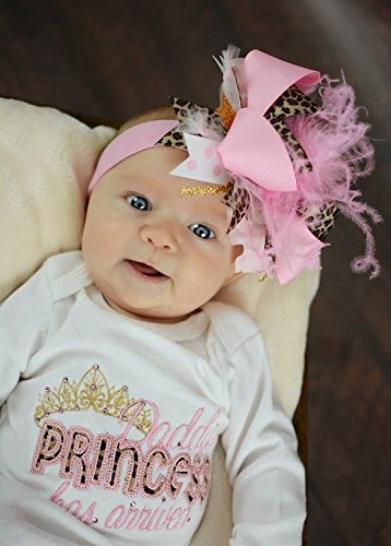Newborn Girl Take Home Outfit - Daddy's Princess Has Arrived Gown ONLY 0-3 mths