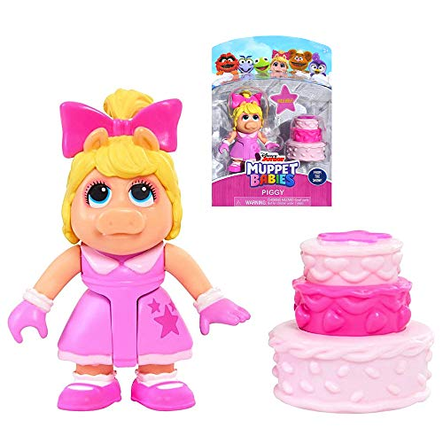 MISS PIGGY Muppet Babies Exclusive Poseable Action Figure 2.5