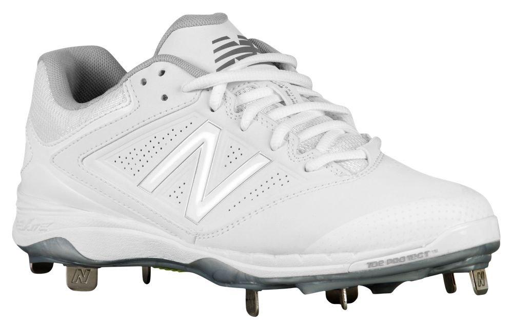 [ニューバランス] New Balance 4040v1 Metal Low レディース ベースボール [並行輸入品] B0714F2TP9 US07.5|ホワイト/ホワイト ホワイト/ホワイト US07.5