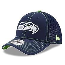 "Seattle Seahawks New Era NFL 39THIRTY ""Shadow Burst"" Flex Fit Hat"