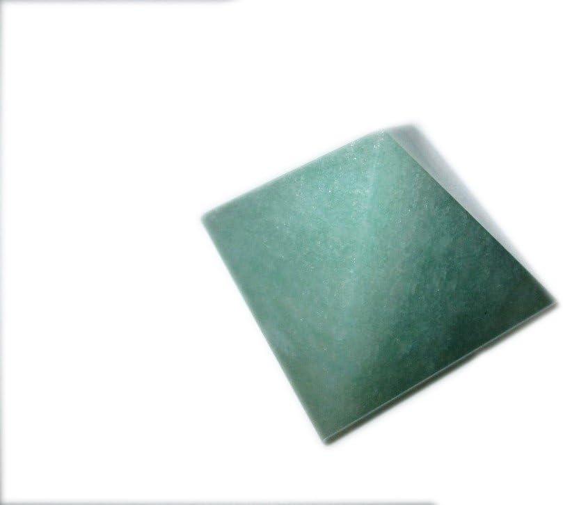 Jet Lovely Green Aventurine Pyramid Approx. 1.25