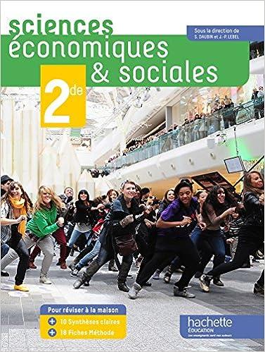 Lire en ligne Sciences économiques et sociales (SES) 2de grand format - Edition 2014 pdf, epub