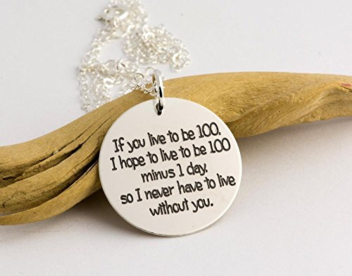Amazoncom Best Friend Gift If You Live To Be 100 Custom Engraved