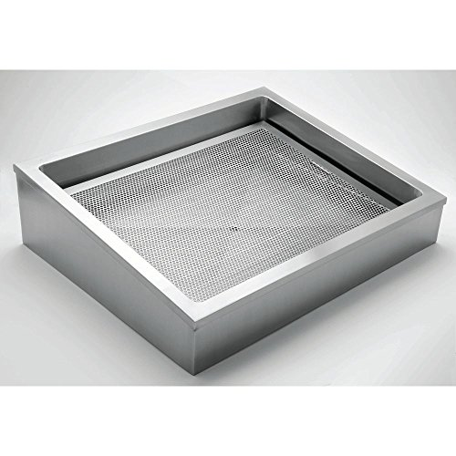 HUBERT Ice Display for Cold Foods and Beverages Stainless Steel - 30
