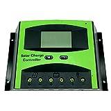 Vta-Tech Solar Charge Controller 60A 12V 24V Adjustable Parameter Function Light Timer Solar Regulator 60amp