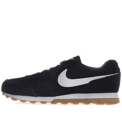 Nike MD Runner 2 Suede Sneaker Sportschuhe retro Schwarz