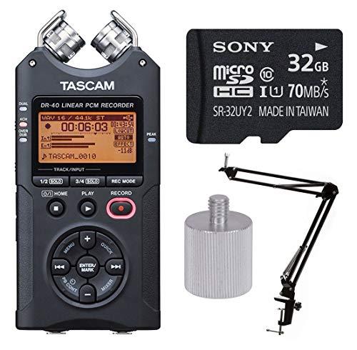 Buy tascam dr-40 4-track portable digital recorder