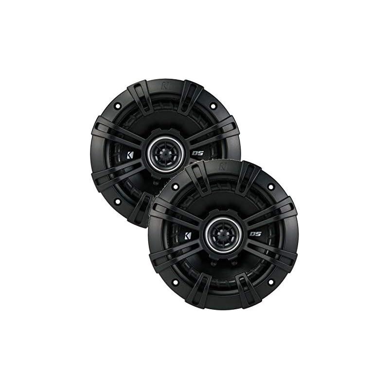 """2 Kicker 43DSC504 D-Series 5.25"""" 200W 2-"""
