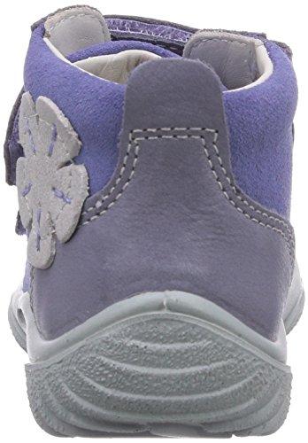 Richter Kinderschuhe Mogli 0433-521 Baby Mädchen Lauflernschuhe Violett (lavender/iron  4001)