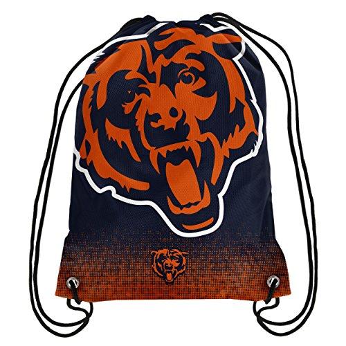 - NFL Football Team Logo Drawstring Backpack Bag - Pick Team (Chicago Bears)