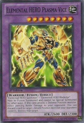 Yu-Gi-Oh! - Elemental HERO Plasma Vice LCGX-EN066 Common - Legendary Collection 2