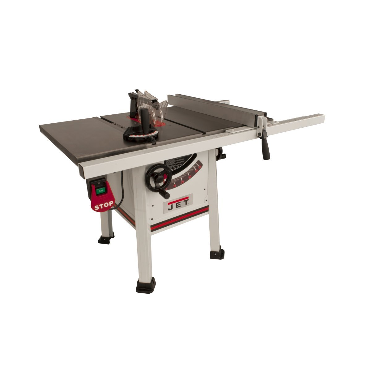 Jet Proshop Tablesaw with Wings and Riving Knife K JPS 10TS