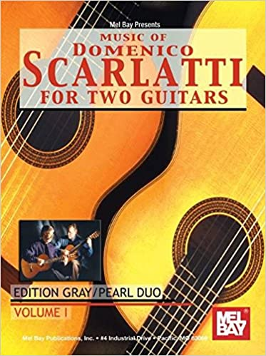 Book Music Of Domenico Scarlatti for 2 Guitars: 1